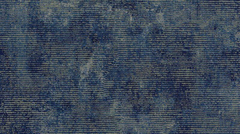 Behang Pagode blauw