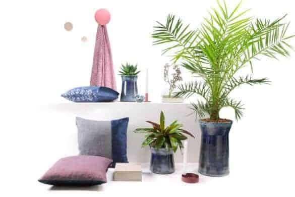Compleet pakket unieke sfeervolle accessoires stijlvol blauw