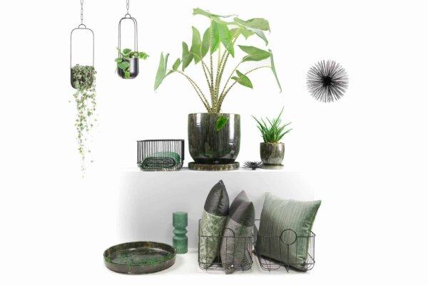 Compleet pakket unieke sfeervolle accessoires natuurlijk groen