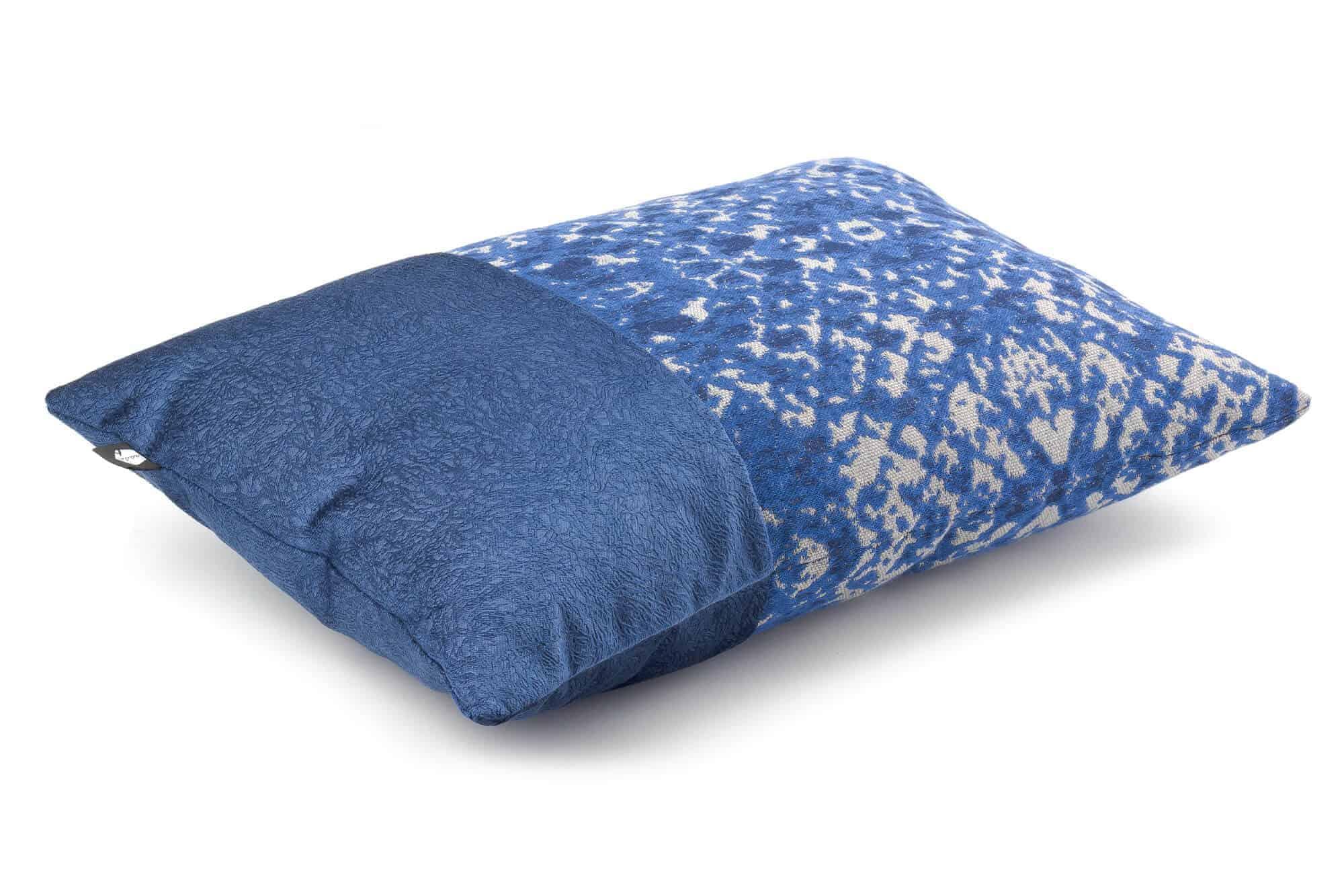 Unieke sfeervolle sierkussen blauw K6-002