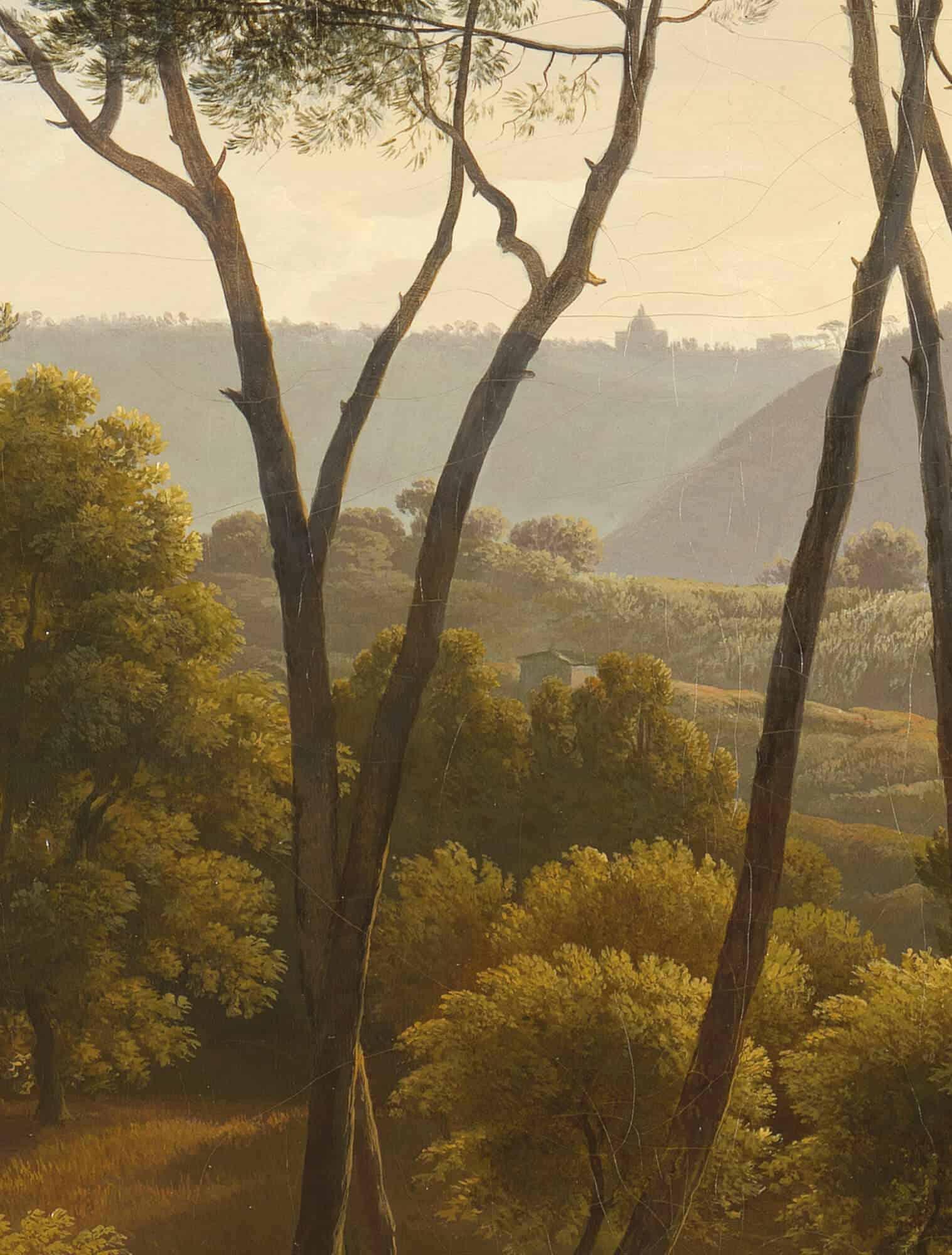 Fotobehang Golden Age Landscapes